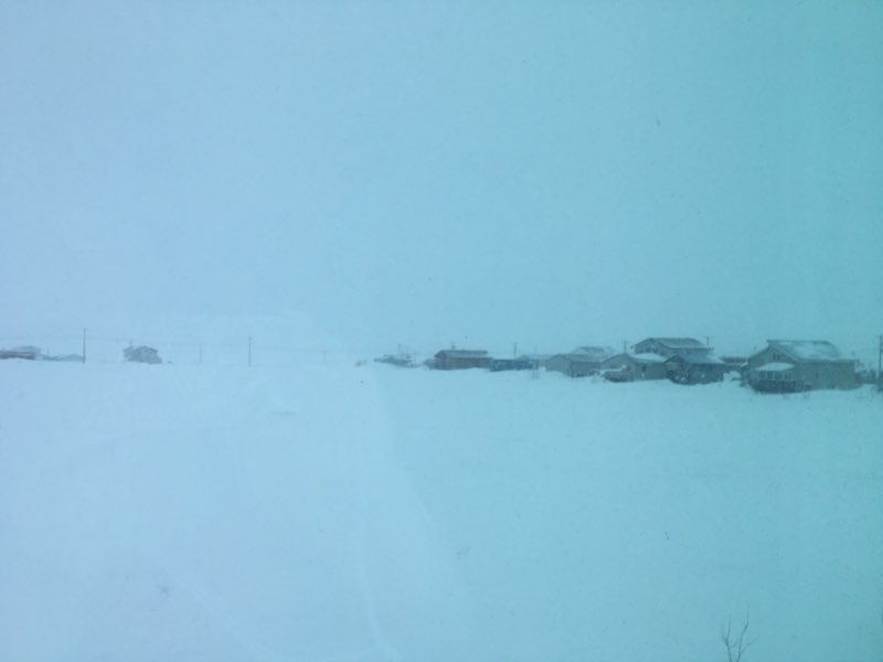 Nora Nagaruk sent this image from Nome this morning.