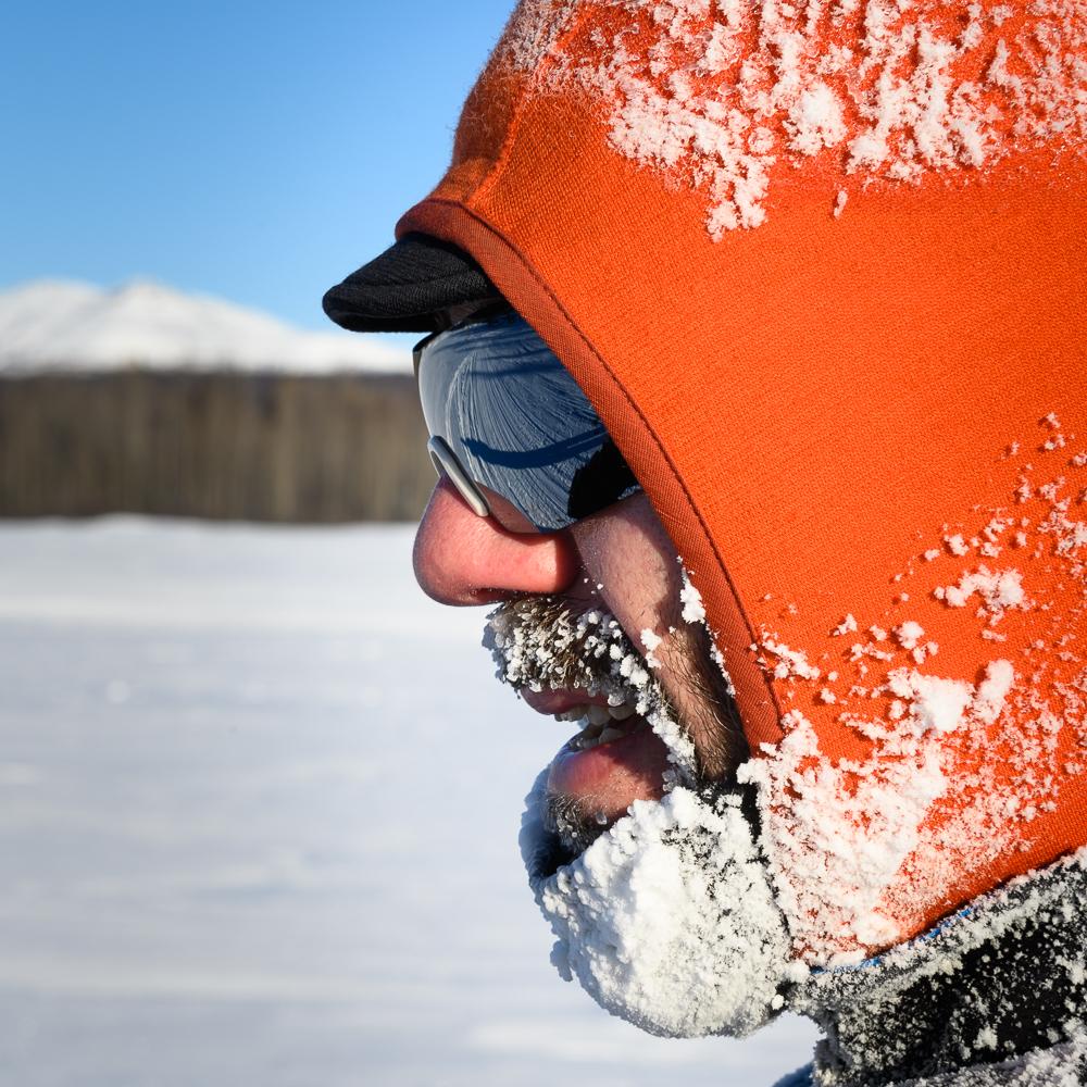 A frosty Petr Ineman