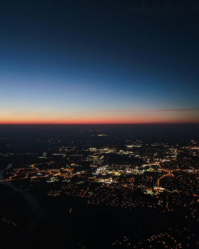A 5:30 a.m. flight is almost worth the view. Emphasis on almost.