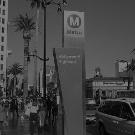 Los Angeles Red Line Transit Oriented Development -