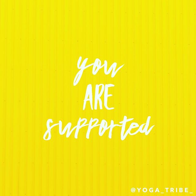 You are supported ✌️