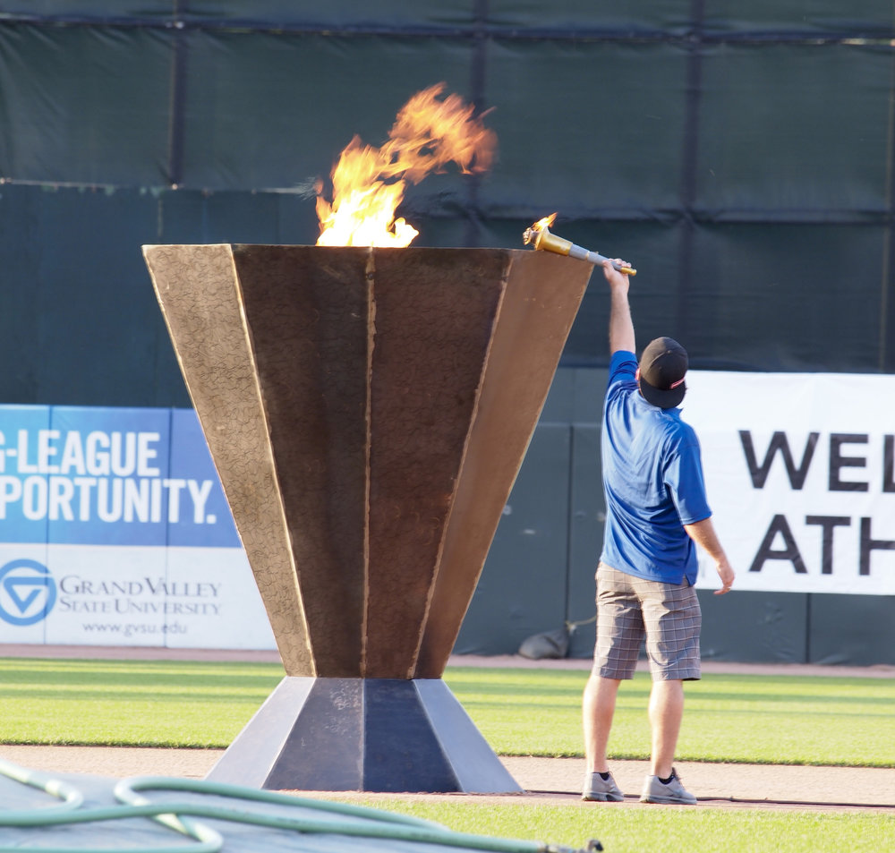 2019 Opening Ceremony - Join us June 21, 2019 at Fifth Third Ballpark. We will be celebrating the 10th Anniversary of the Meijer State Games of Michigan.Athletes will have the opportunity to represent their sport in the athlete parade.Click here for more information.