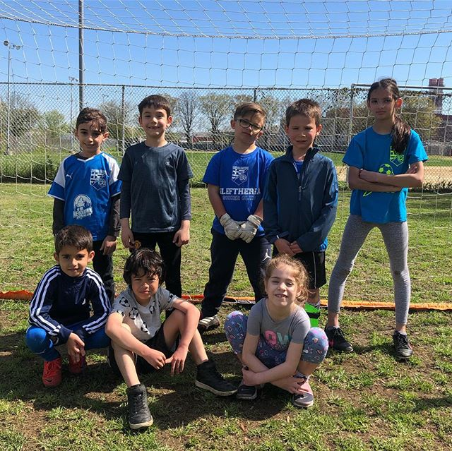 A few pictures from our spring Break Clinic. The kids are learning and having a blast! #getoutside #havefun #socialize #lovesoccer #astoriaqueens