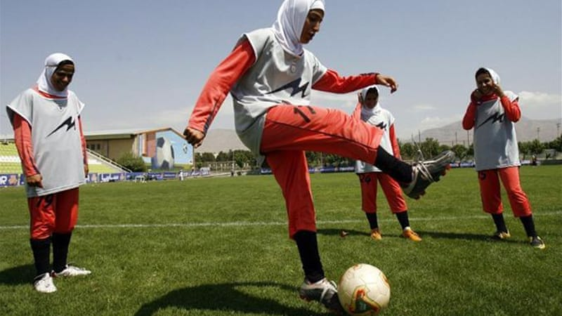 """FIFA Lifts Ban on Head Covers . ""  Players will now be able to wear a hijab or turban during football matches, according to the sport's governing body. March 1, 2014.  Al Jazeera"