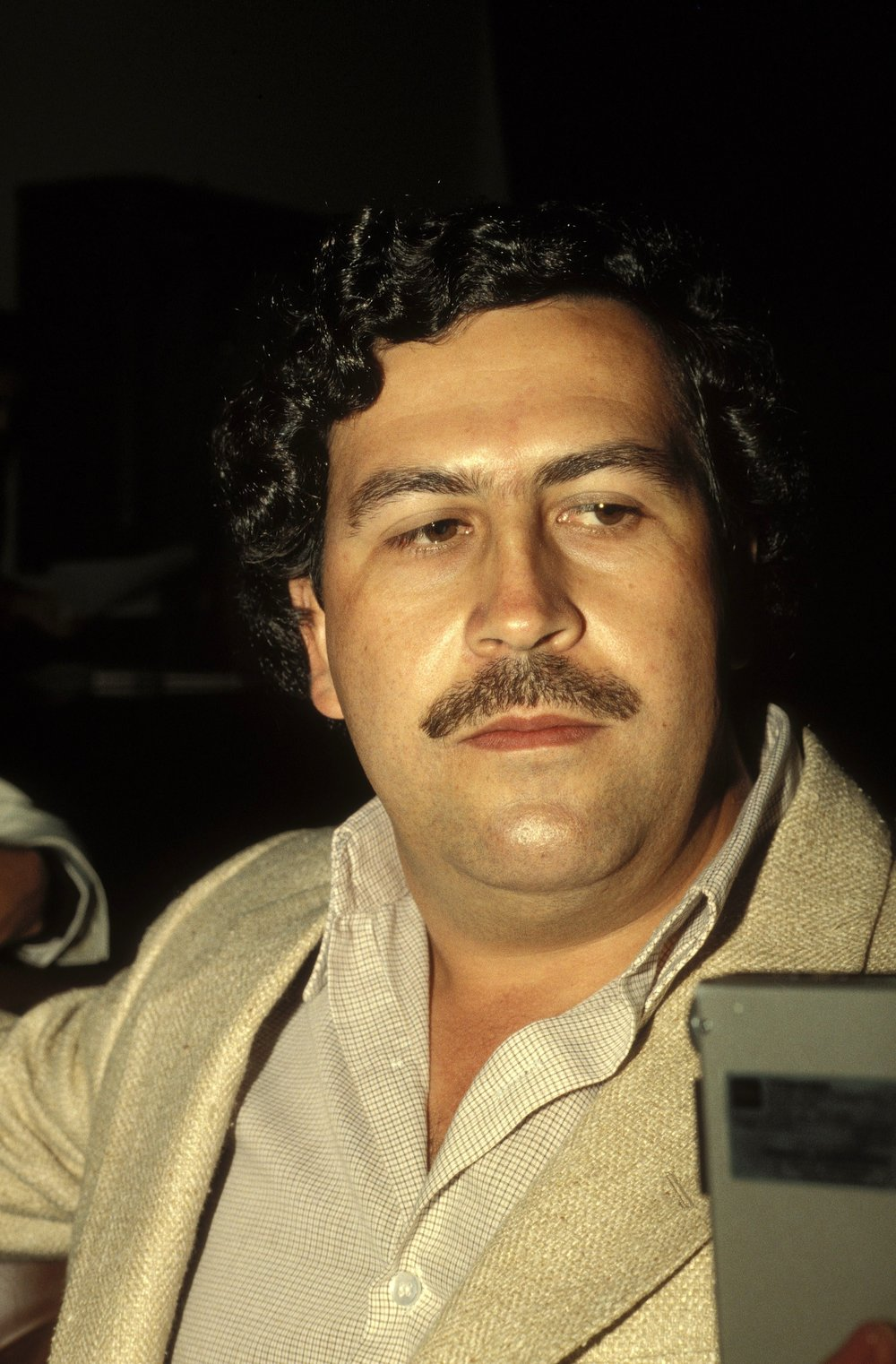 Before Pablo Escobar turned himself in to Colombian authorities in 1991, he designed and built his own private prison, La Catedral. It included a small football pitch, where Escobar's favorite footballers — including players from the national team — were often invited to play.  Photo by Eric Vandeville/Gamma-Rapho