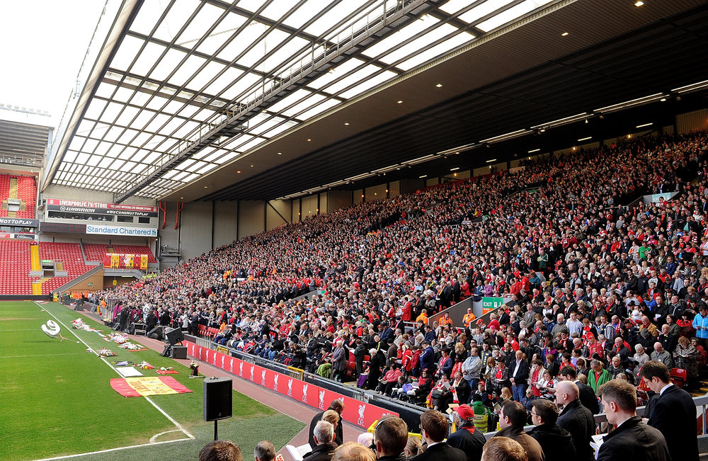 Fans mark the 24th anniversary of the Hillsborough disaster in 2013