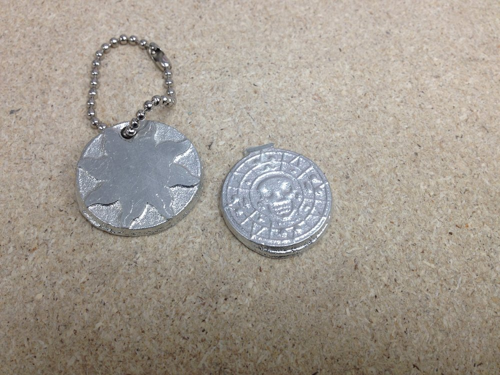 Sandcast Pewter Items