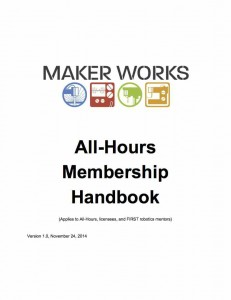 A supplement to the Member Handbook that covers the additional rights and responsibilities of All-Hours membership. (All-Hours membership is available by application and has certain requirements.)