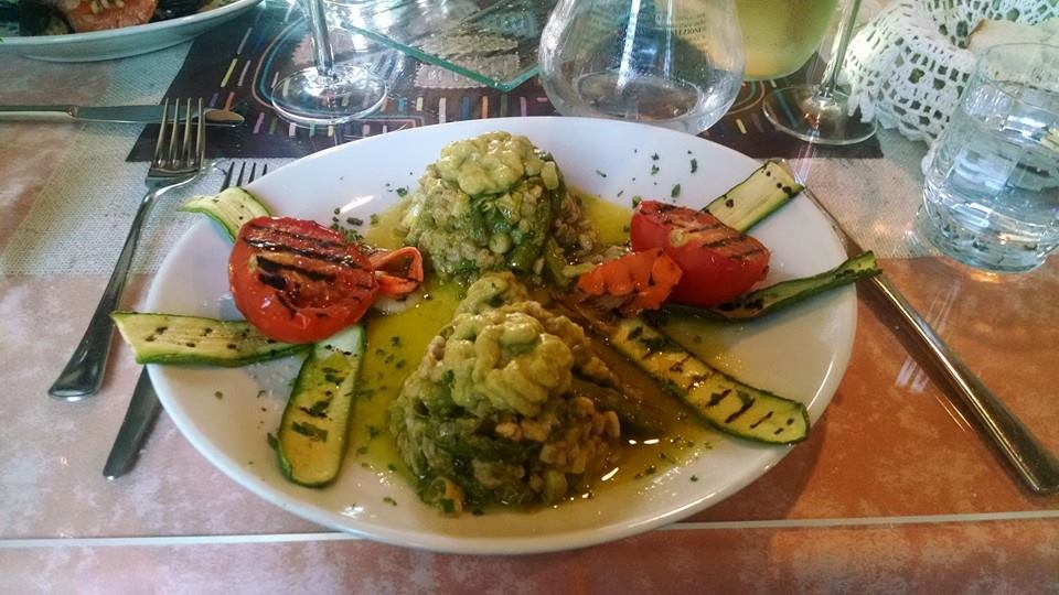 Cous cous with veggies, the best meal I ever had.