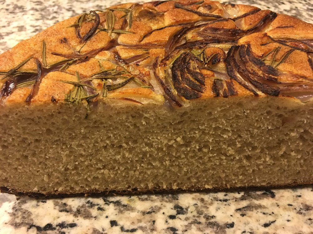 enjoy as is with olive oil or butter. This would also make great sandwich bread. -