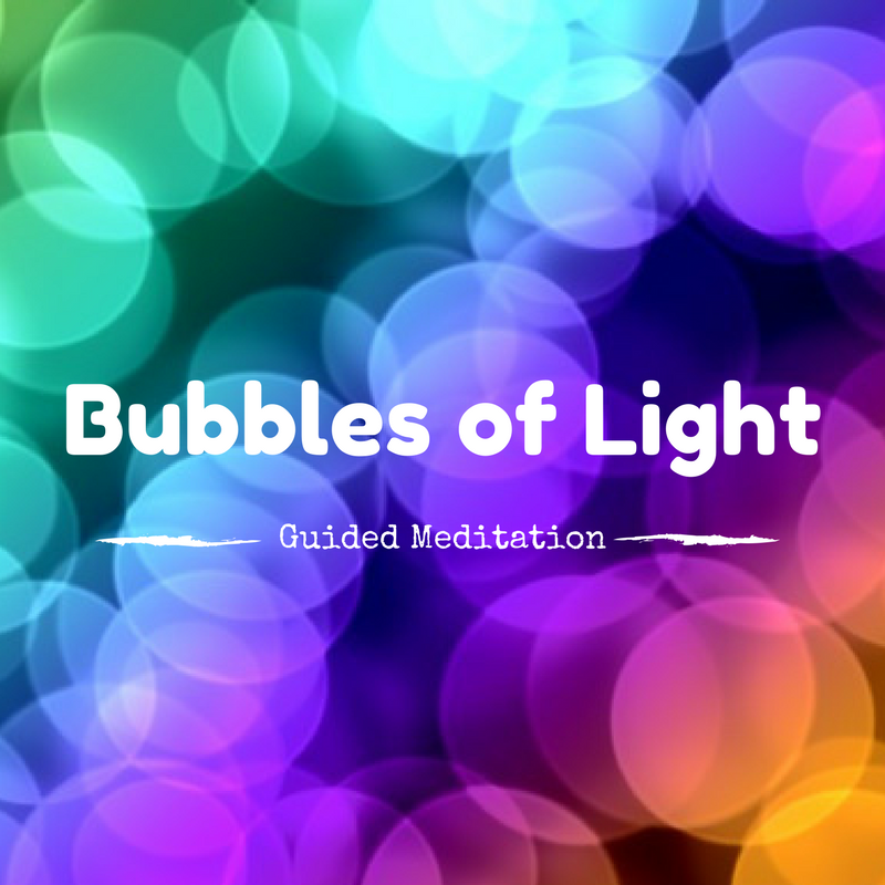 Listen Here   Bubbles of Light is a smooth and easy journey into clearing your energy body. You can sit back, relax (even fall asleep) while the bubbles work their magic.