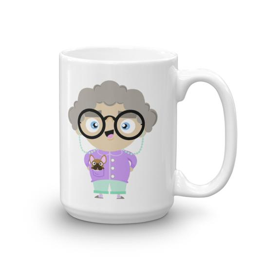 Baby Grandma Mug - For all my baby grandmas out there. Are you really a baby grandma if you don't have a baby grandma mug?Grab yours here