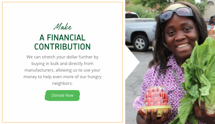 It's ok to tell people you just need money.  - Philabundance clearly explains how monetary donations can provide even more meals for those hungry people in your community.