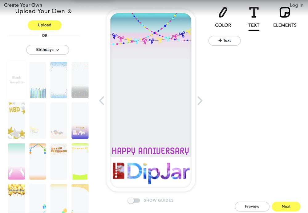 DipJar Snapchat Step 3 .png