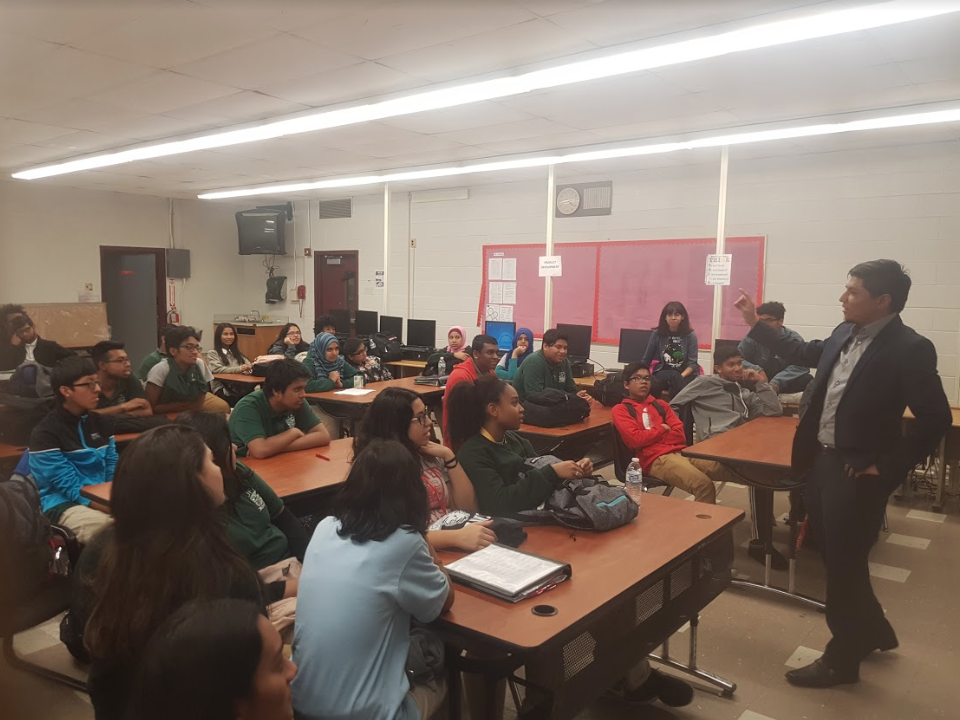 Development Workshop   Taken during our Professional and Leadership Workshop at John F. Kennedy High School in Paterson NJ.