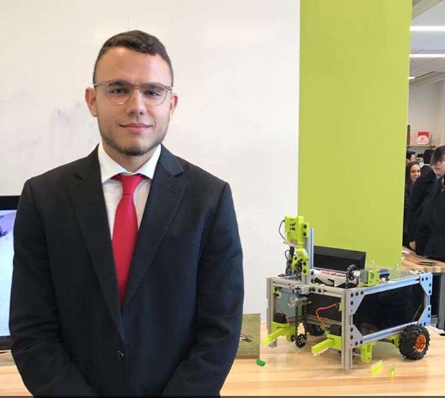 Shout out to our Academic Chair Nader Elsayed for his team's successful completion of Industrial and Systems Engineering Senior Design. Nader has been researching and developing a mobile and automated Goose Excrement Collector since January. We are very proud of Nader and his promising project, he is another example of SHE excellence.