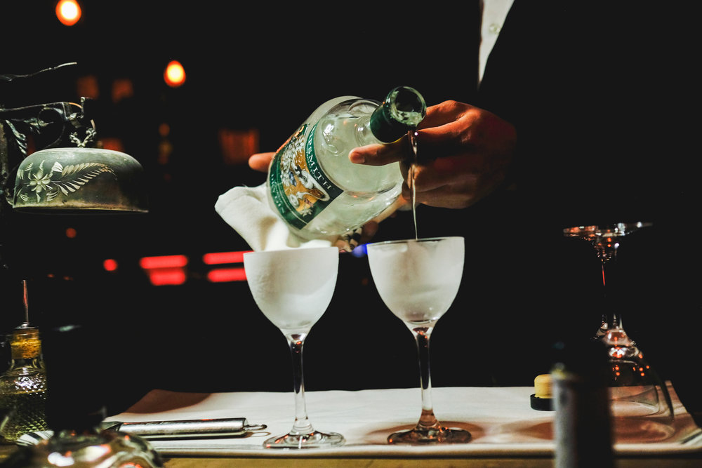 Tableside Martini