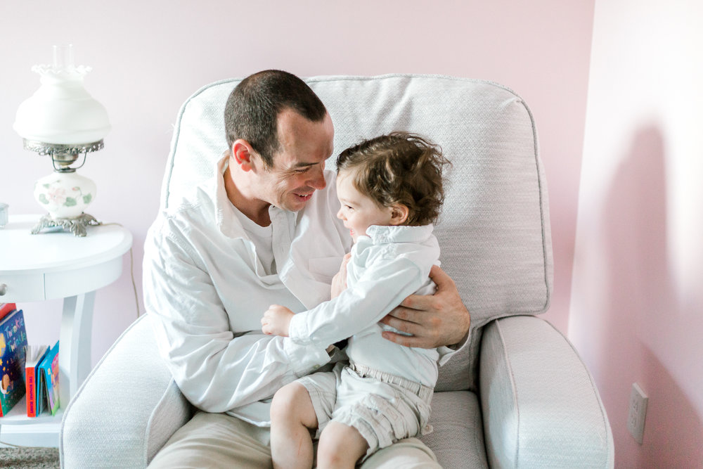 In Home Newborn Lifestyle Session Baby Girl With Brother Pink Nursery  (56 of 115).jpg