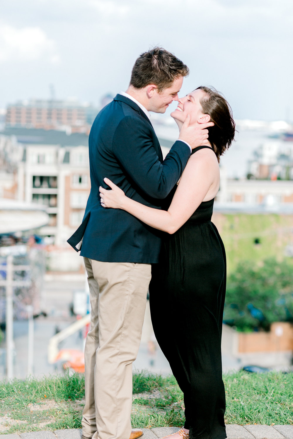 Baltimore Federal Hill Park Stormy Engagement Session Lytle Photo Co (66 of 92).jpg