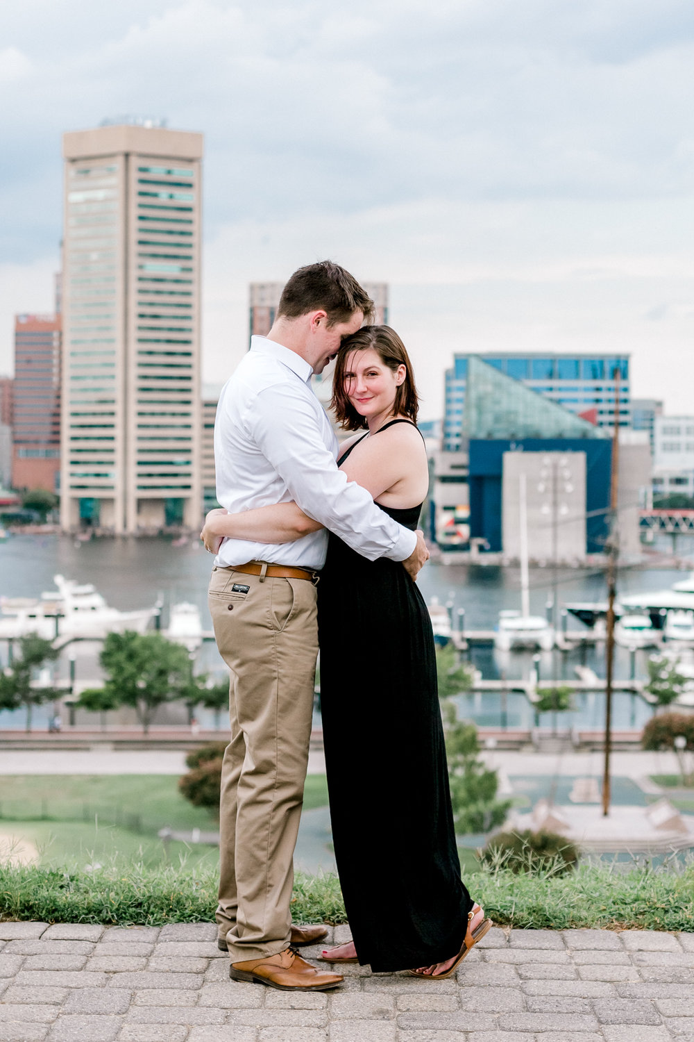 Baltimore Federal Hill Park Stormy Engagement Session Lytle Photo Co (82 of 92).jpg