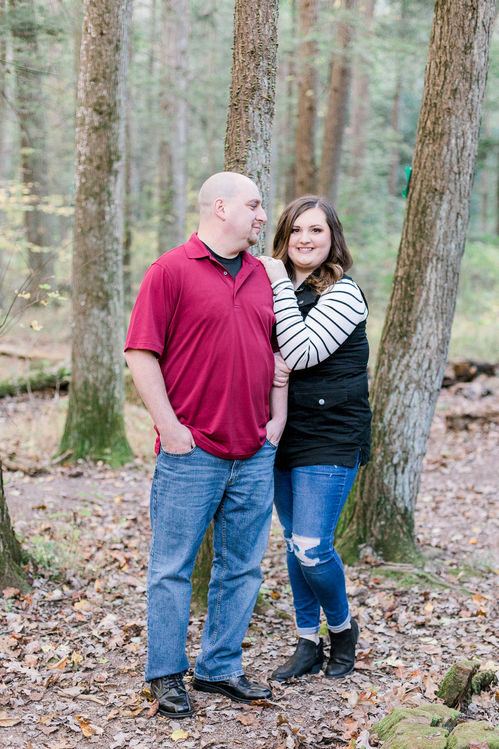 Jacobsburg State Park Nazareth Pennsylvania Woodsy Fall Engagement Session wedding and lifestyle photographer Lytle Photo Co (16 of 64).jpg