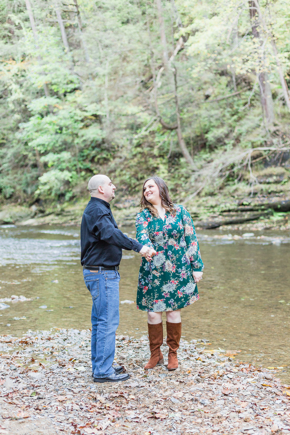 Jacobsburg State Park Nazareth Pennsylvania Woodsy Fall Engagement Session wedding and lifestyle photographer Lytle Photo Co (42 of 64).jpg