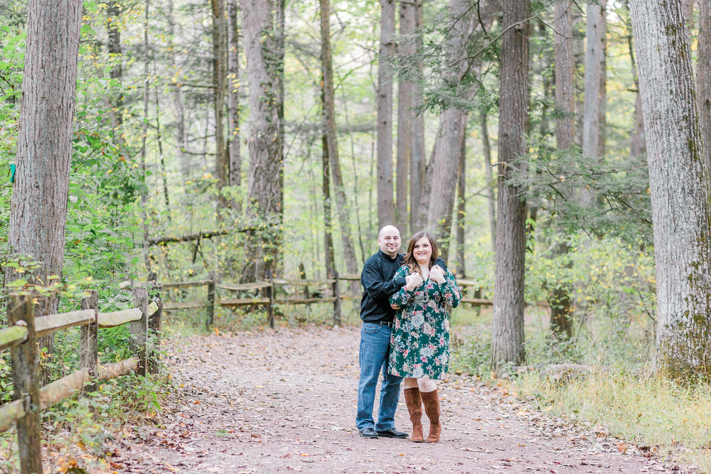 Jacobsburg State Park Nazareth Pennsylvania Woodsy Fall Engagement Session wedding and lifestyle photographer Lytle Photo Co (54 of 64).jpg