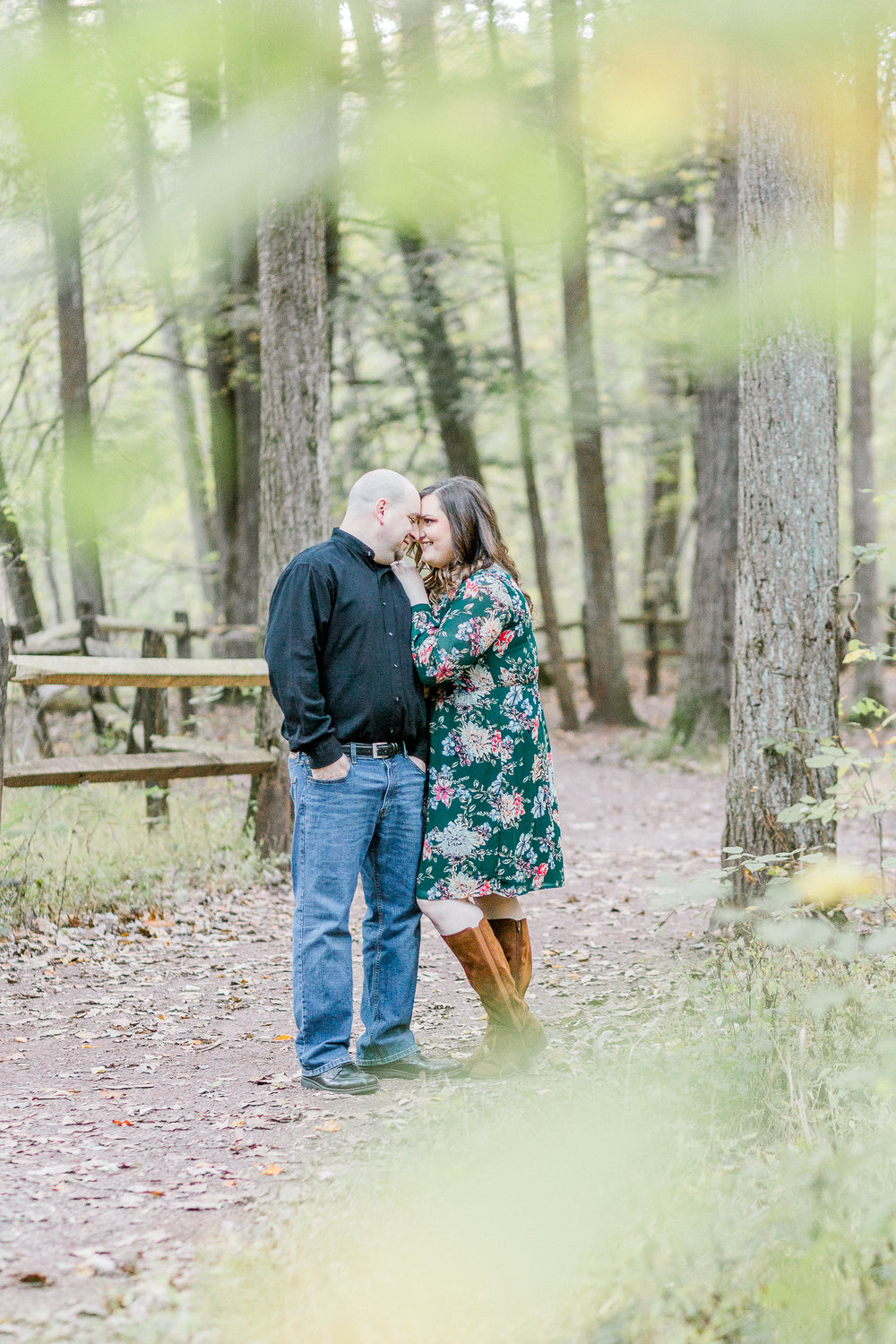 Jacobsburg State Park Nazareth Pennsylvania Woodsy Fall Engagement Session wedding and lifestyle photographer Lytle Photo Co (59 of 64).jpg
