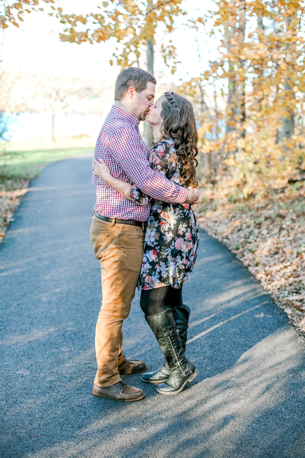 Bucks county Peace Valley Park Doylestown Lehigh Valley fall windy engagement session wedding and lifestyle photographer Lytle Photo Co (24 of 109).jpg
