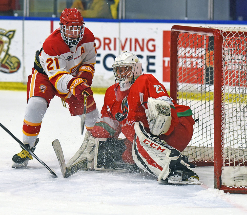 Belarus goalie save against Calgary Flames #21.jpg