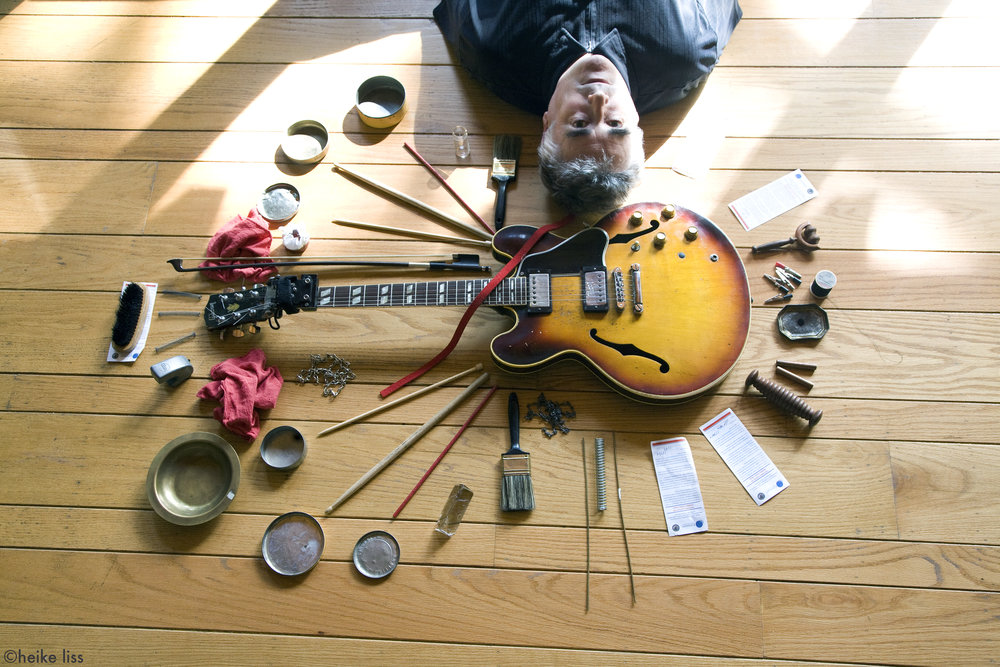 Fred Frith, musician/composer © Heike Liss