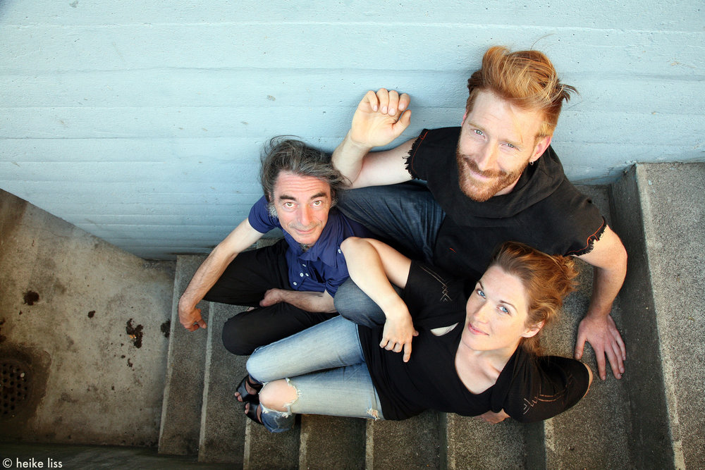 Lost Frequency Trio, Giancarlo Nicolai, Benjamin Brodbeck, Mina Fred © Heike Liss