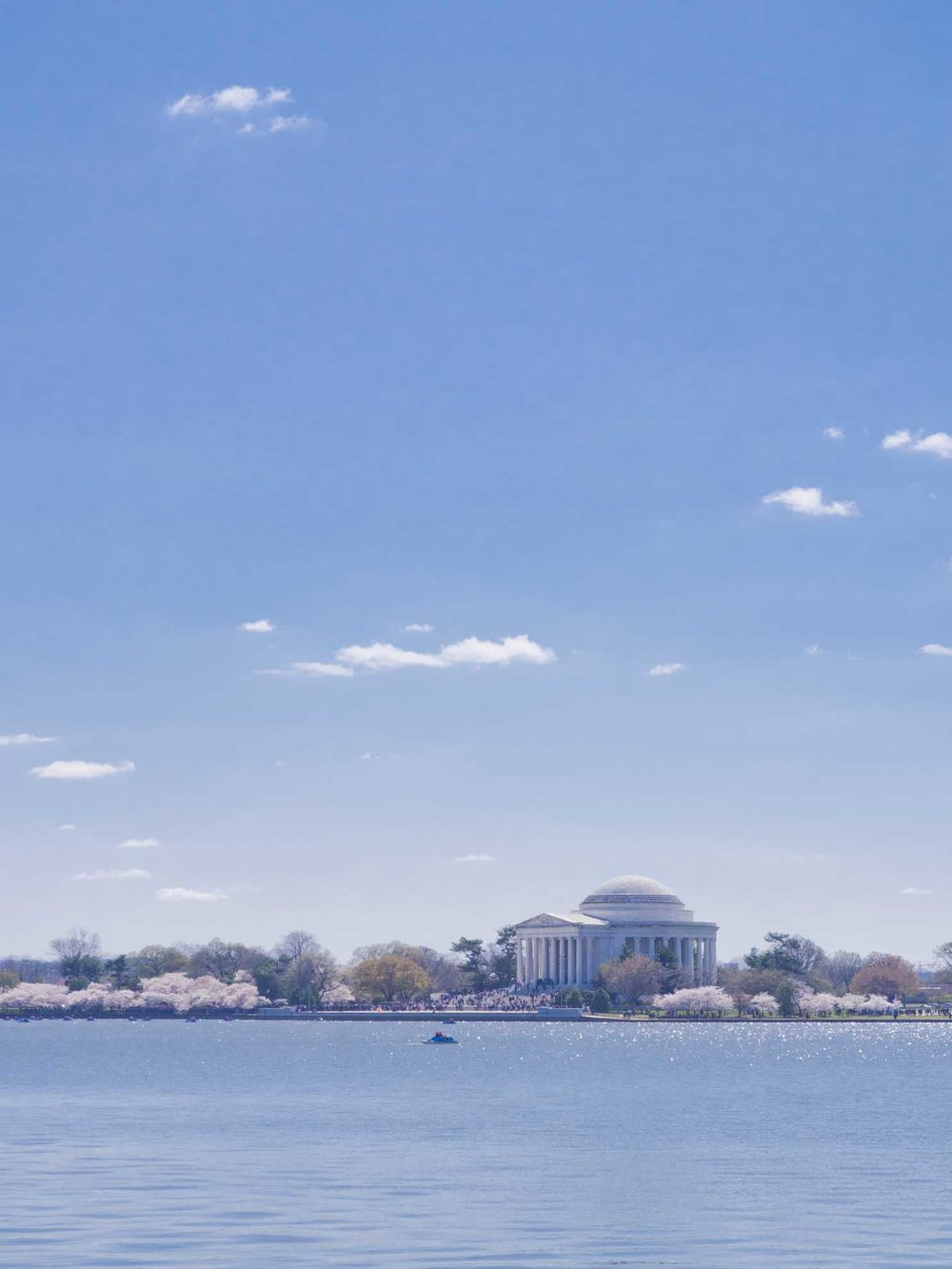 Jefferson Memorial across the Tidal Basin