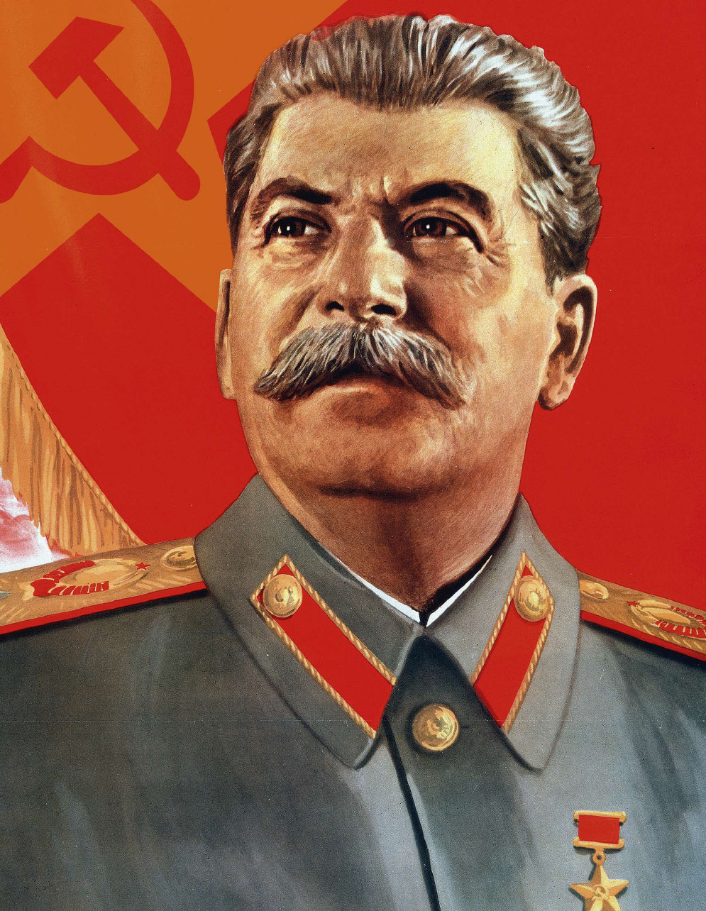 Joseph Stalin, former dictator of the Soviet Union