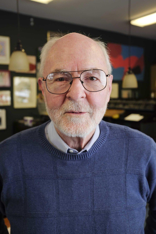 George Roberts, owner of Homewood Studios art gallery, Minneapolis, MN