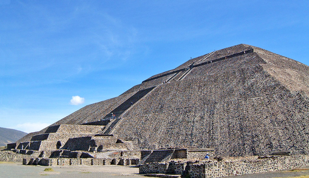 The Pyramid of the Sun, Teotihuacan
