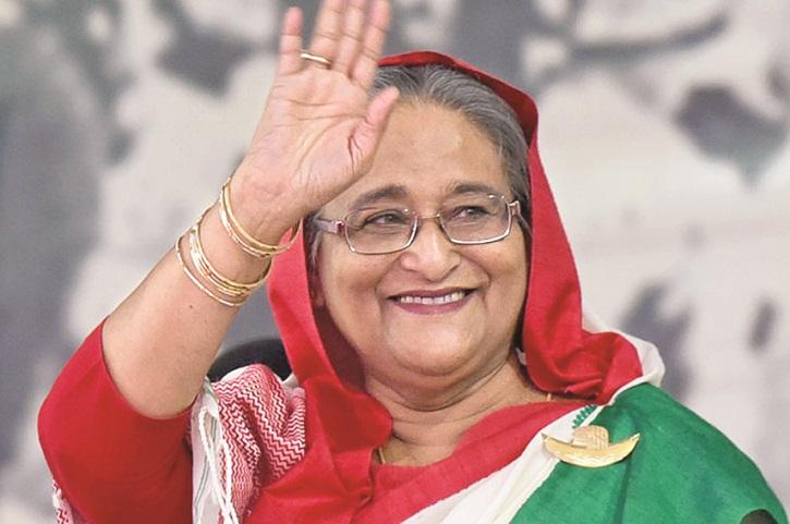 Bangladeshi Prime Minister, Sheikh Hasina ( Bangladesh Today )