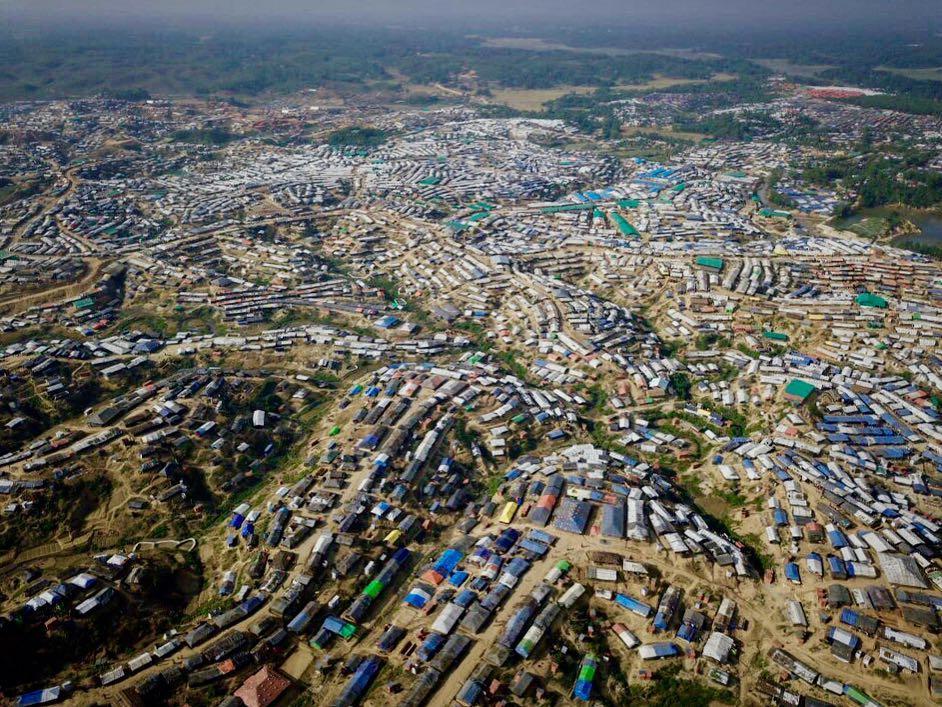 Kutupalong refugee camp - Housing over 545,000 Rohingya refugees