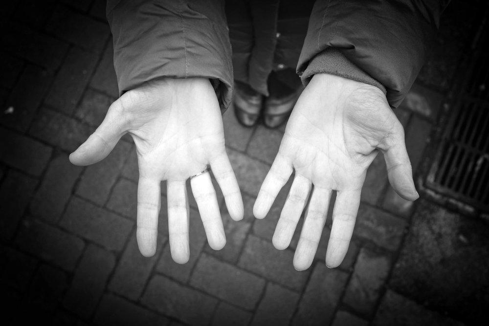 Regina McCombs hands