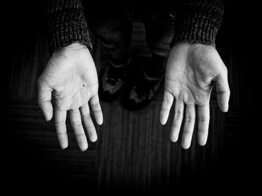 Susan Du hand portrait