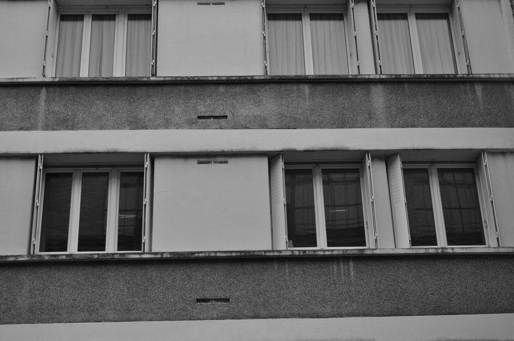 Window on the left