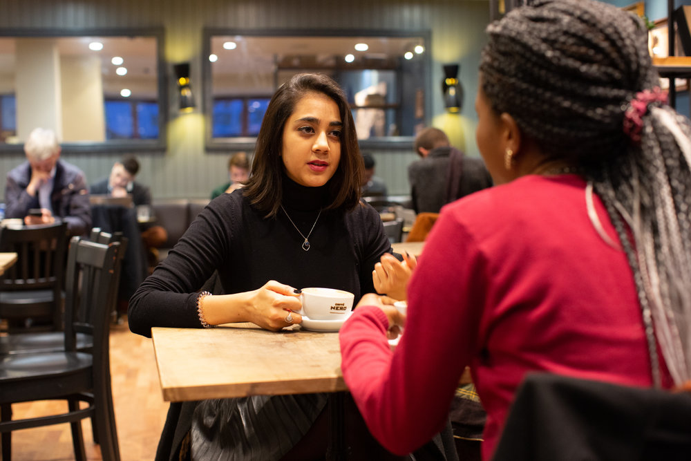 """""""It has been really lovely to get to know my mentee and to find out more about her. I feel as though our meetings have given her some focus and we are building a good rapport. I think it's really powerful to give someone a space that is just for them."""""""