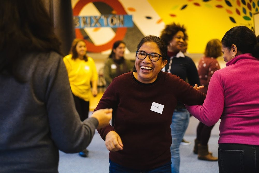 Weekly theatre workshops for women from refugee and asylum-seeking backgrounds, building confidence, language skills and social connections.