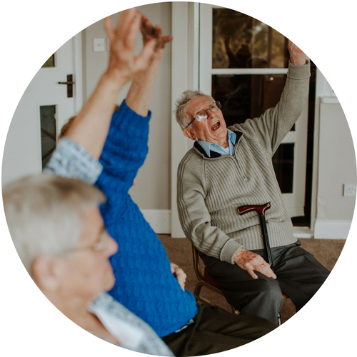 working within care homes -