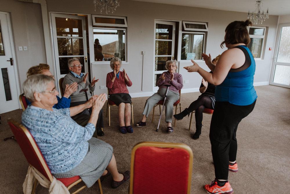 dementia friendly dance in southend-on-sea