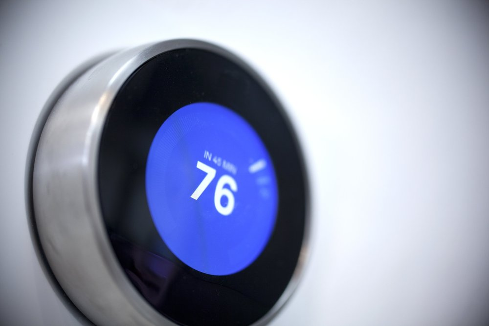 """smart home - Your new residence at The Bartlett is equipped with the latest smart home technology, including a Google Home device as a foundation and a """"smart"""" Nest thermostat for added convenience and energy savings."""