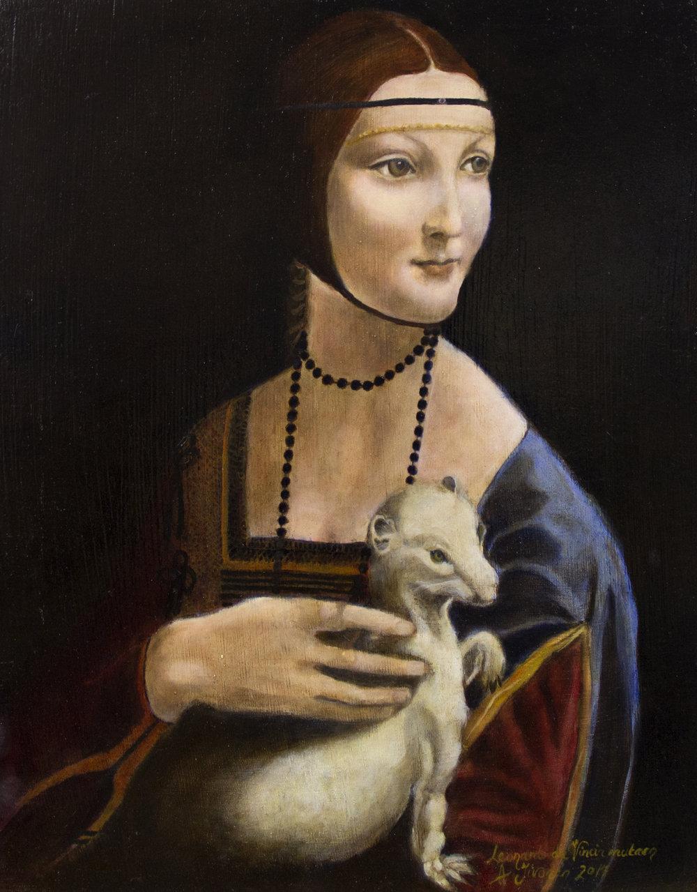 Nainen ja kärppä, Ada Iivonen da Vincin mukaan