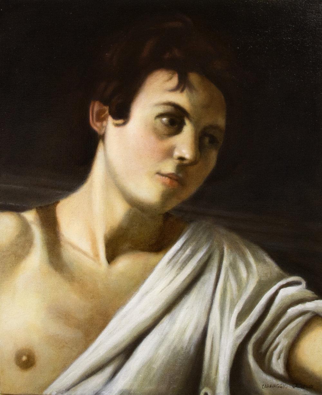 Juri Renko Caravaggion mukaan.