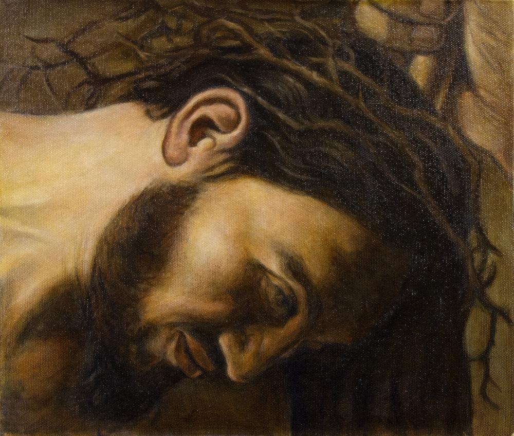 Lauri Louhelainen Caravaggion mukaan.