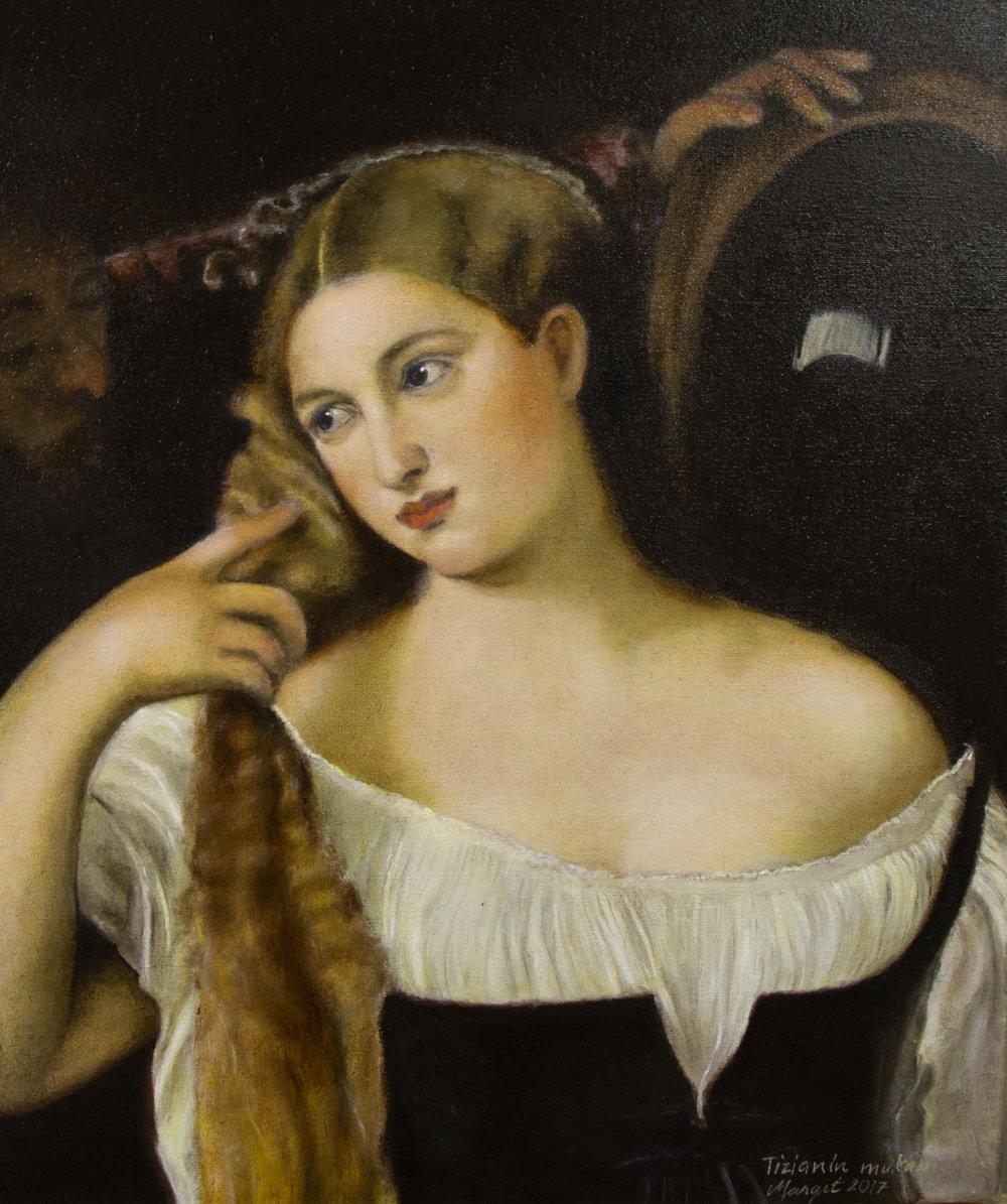 Margit Hakanen Tizianin mukaan